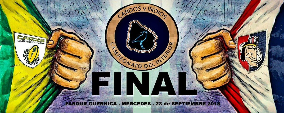 Cardos de Durazno y los Indios de Mercedes definen el Campeonato de Segunda División