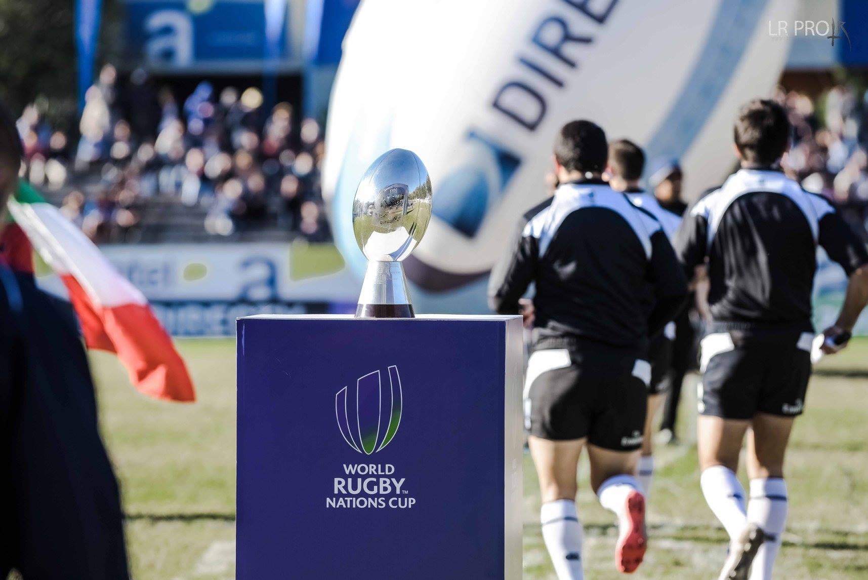 Fixture de la World Rugby Nations Cup 2018