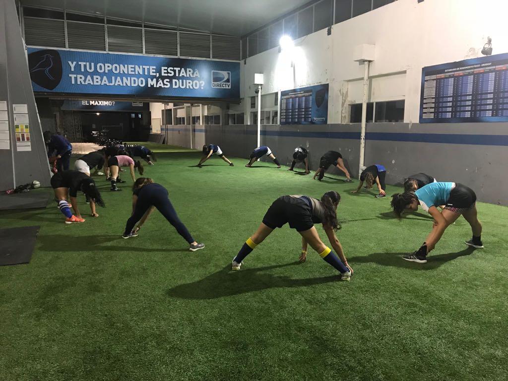 La Pre-Selección juvenil de Rugby Femenino trabaja pensando a futuro.