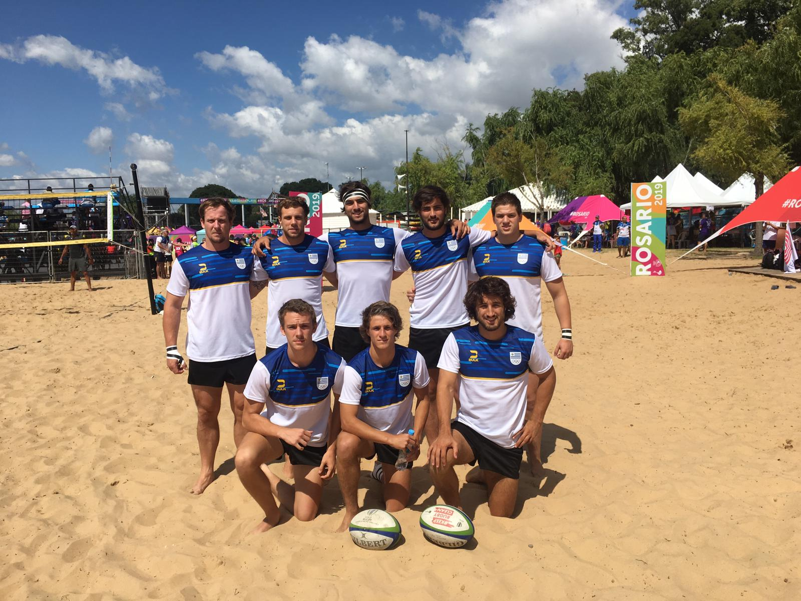 Uruguay, en los Juegos Suramericanos de Rugby Playa