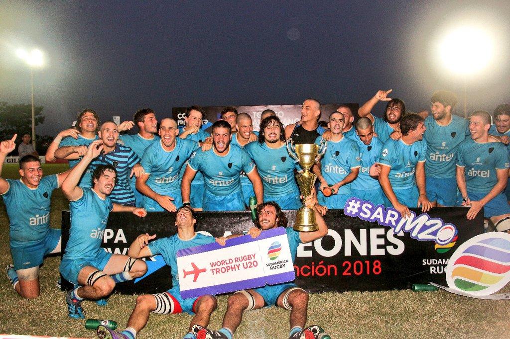 ¡Uruguay Campeón del Sudamericano M20!