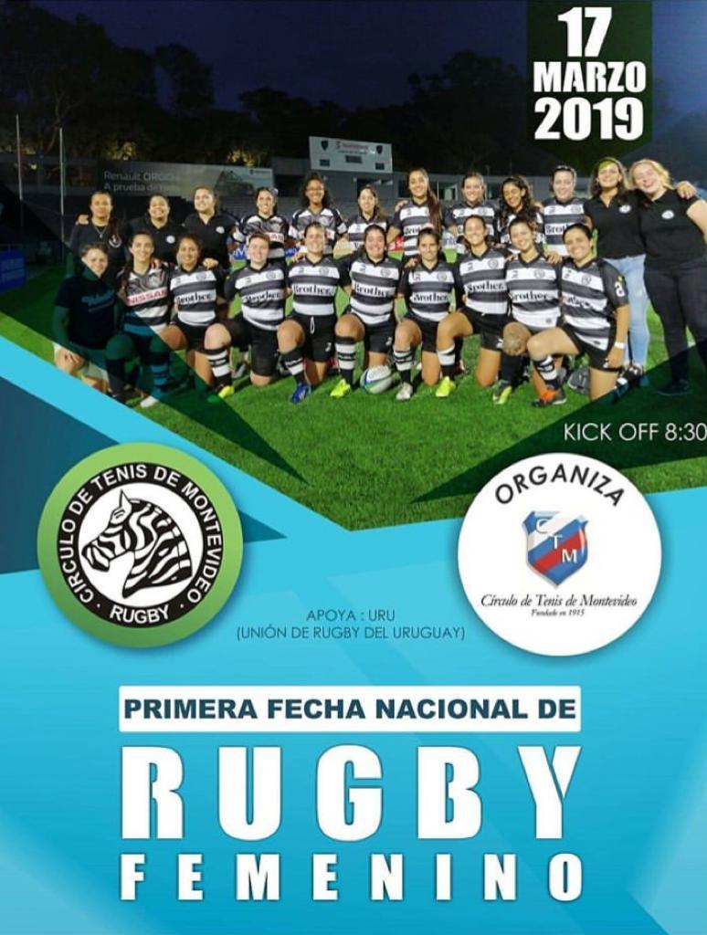 ¡El Rugby de Clubes Femenino arranca este domingo!