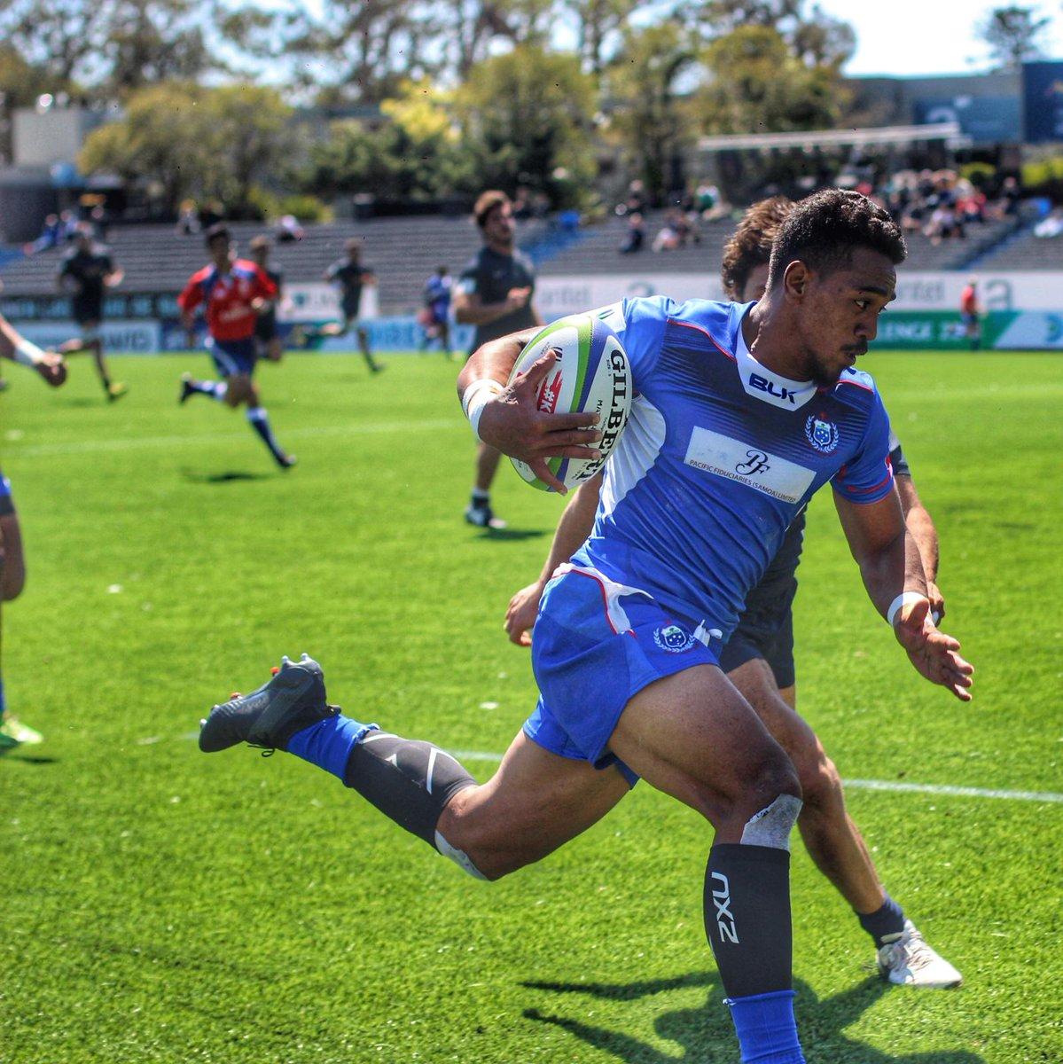 Samoa abrió el Americas Pacific Challenge con un triunfo ante Argentina