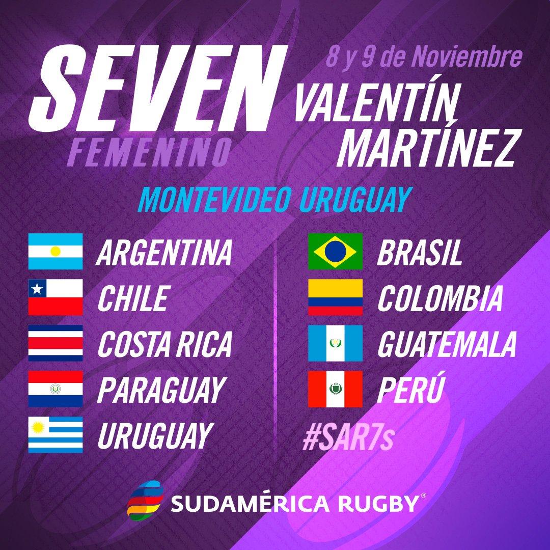 Uruguay será sede del Sudamericano de Rugby Femenino