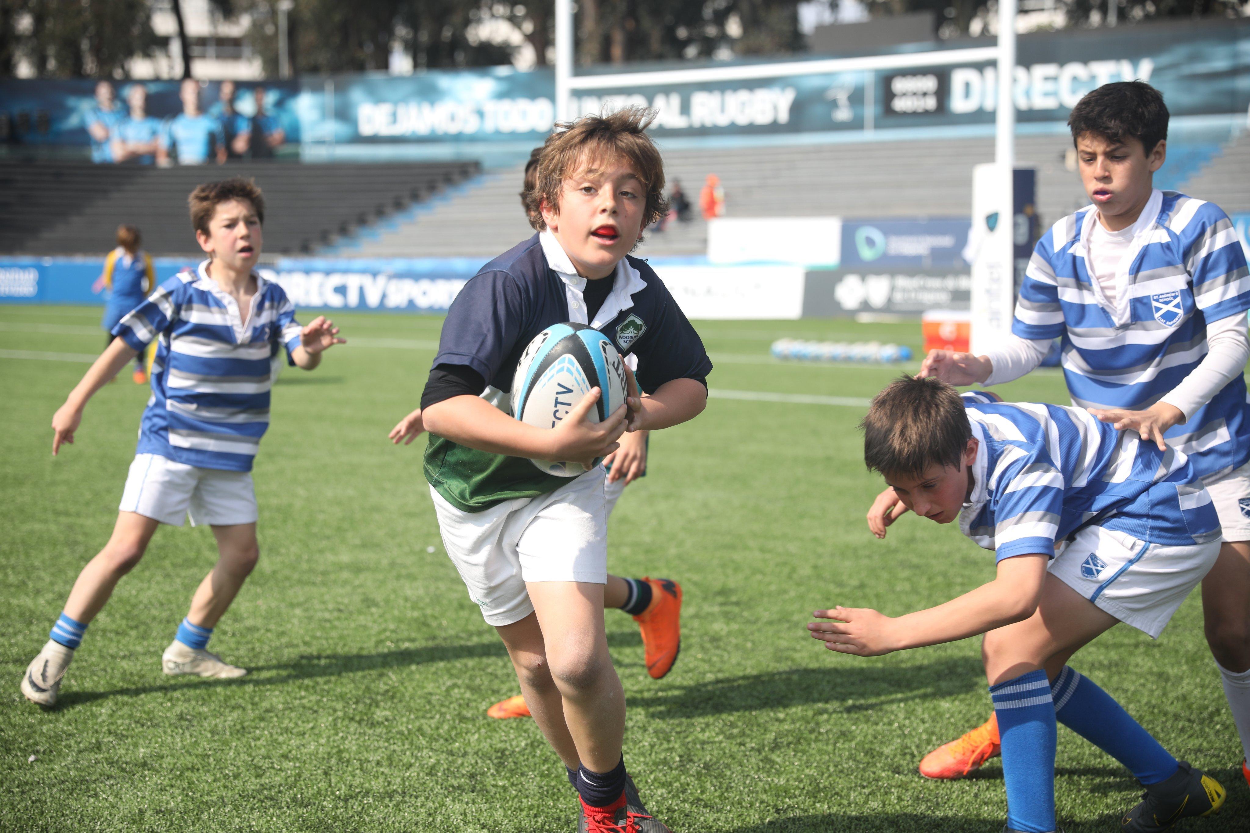 ¡Cursos de Rugby Infantil de la UAR!