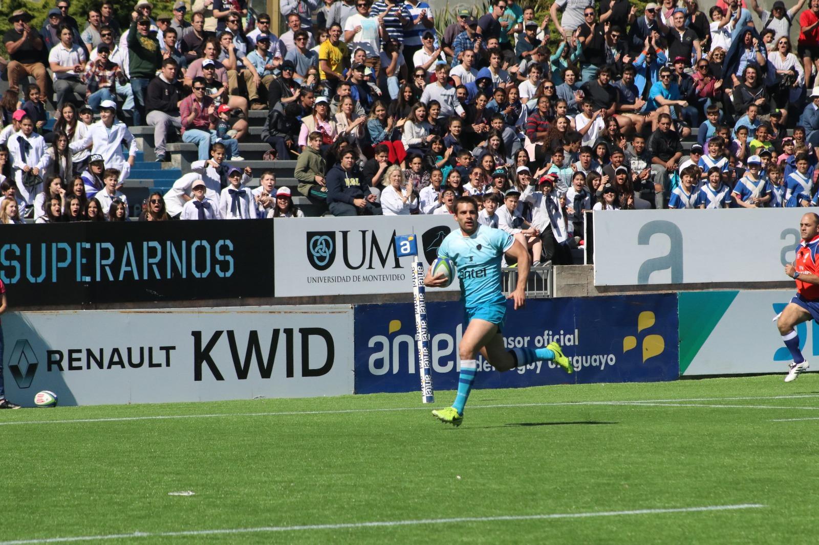 Uruguay XV le ganó a Estados Unidos  va por el título