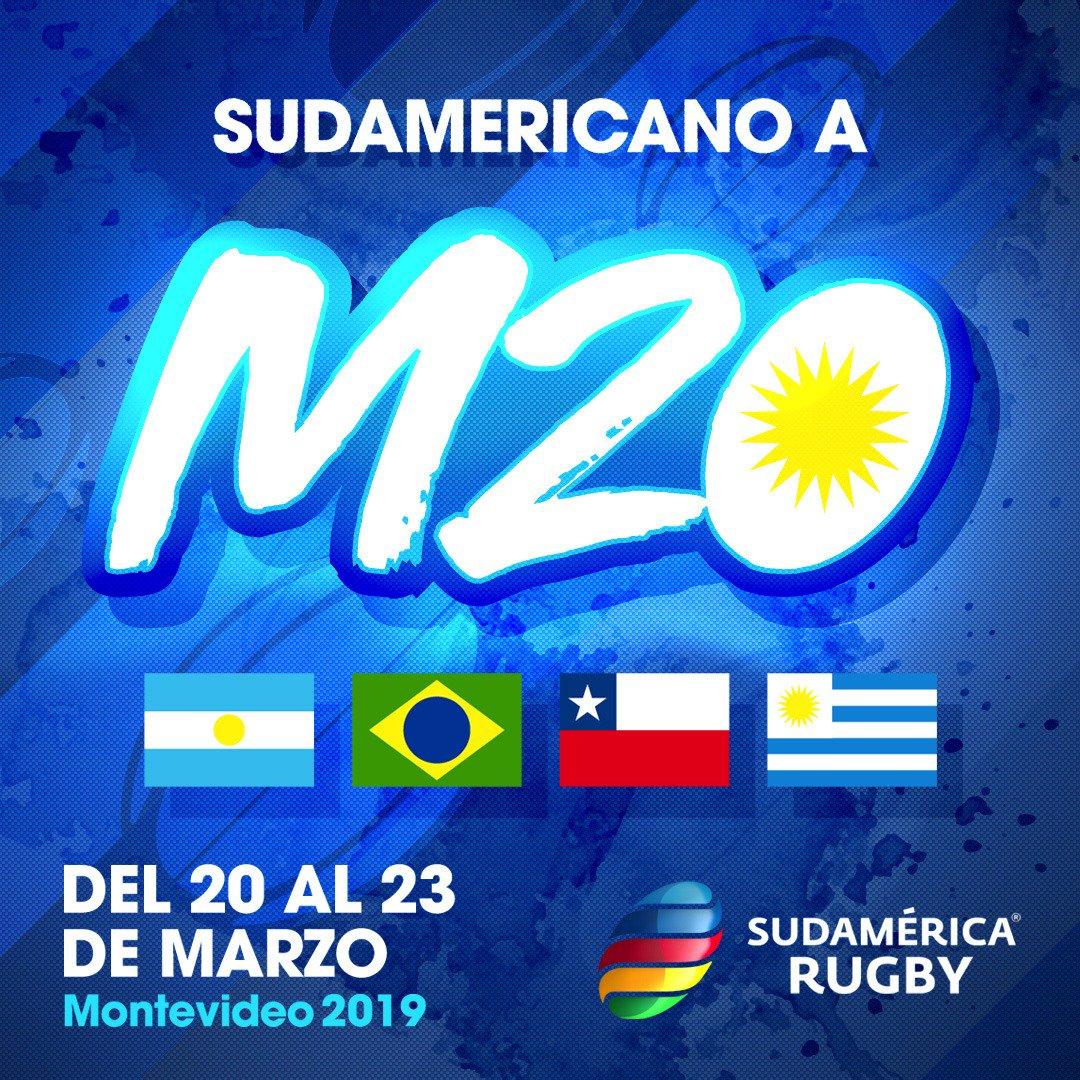 ¡Mirá los partidos del Sudamericano M20, acá!