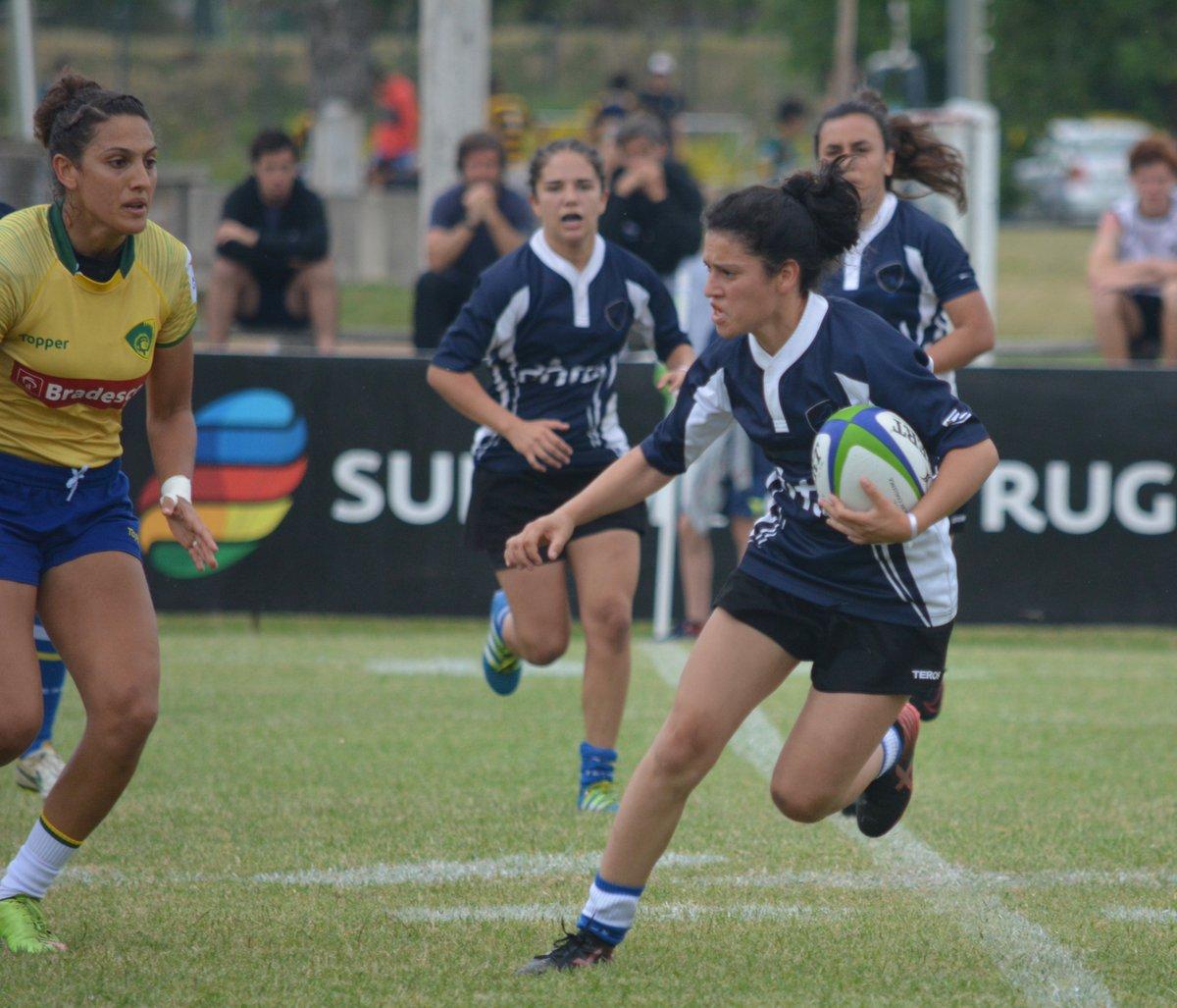 Las Teras fueron séptimas en el Sudamericano Femenino de Seven a Side