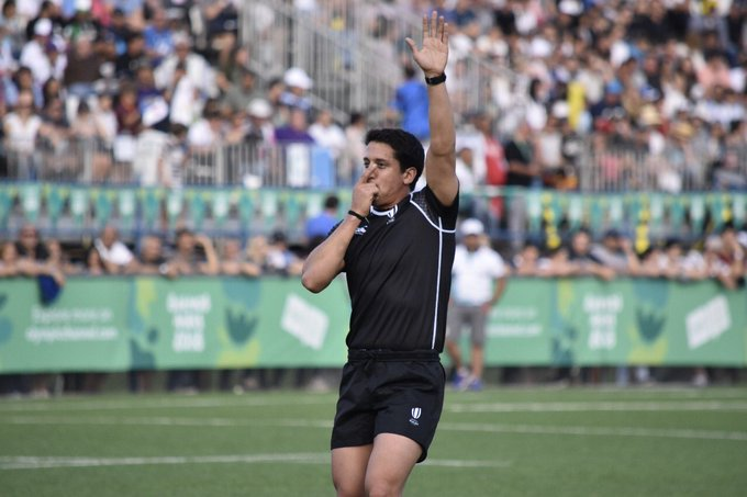 El uruguayo Francisco González estará como Referee en el 4 Naciones Sudamericano