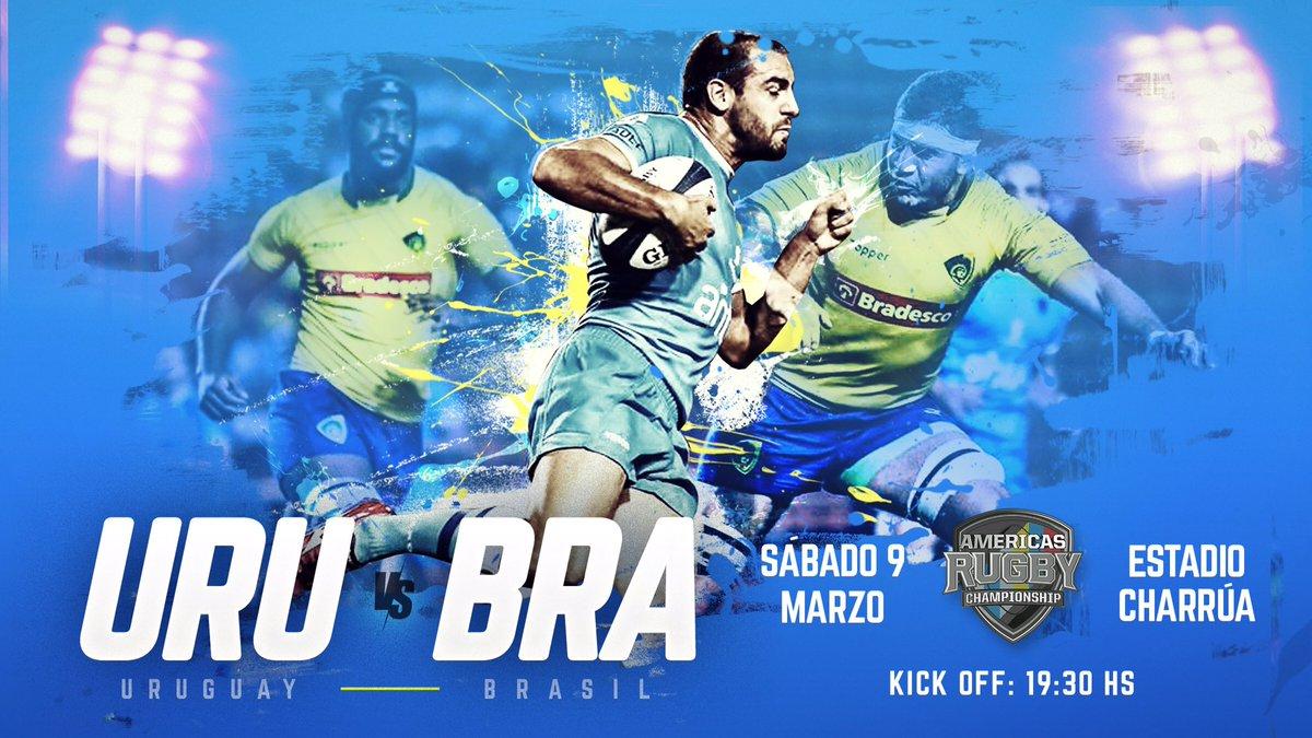 Los Teros reciben a Brasil en el Estadio Charrúa