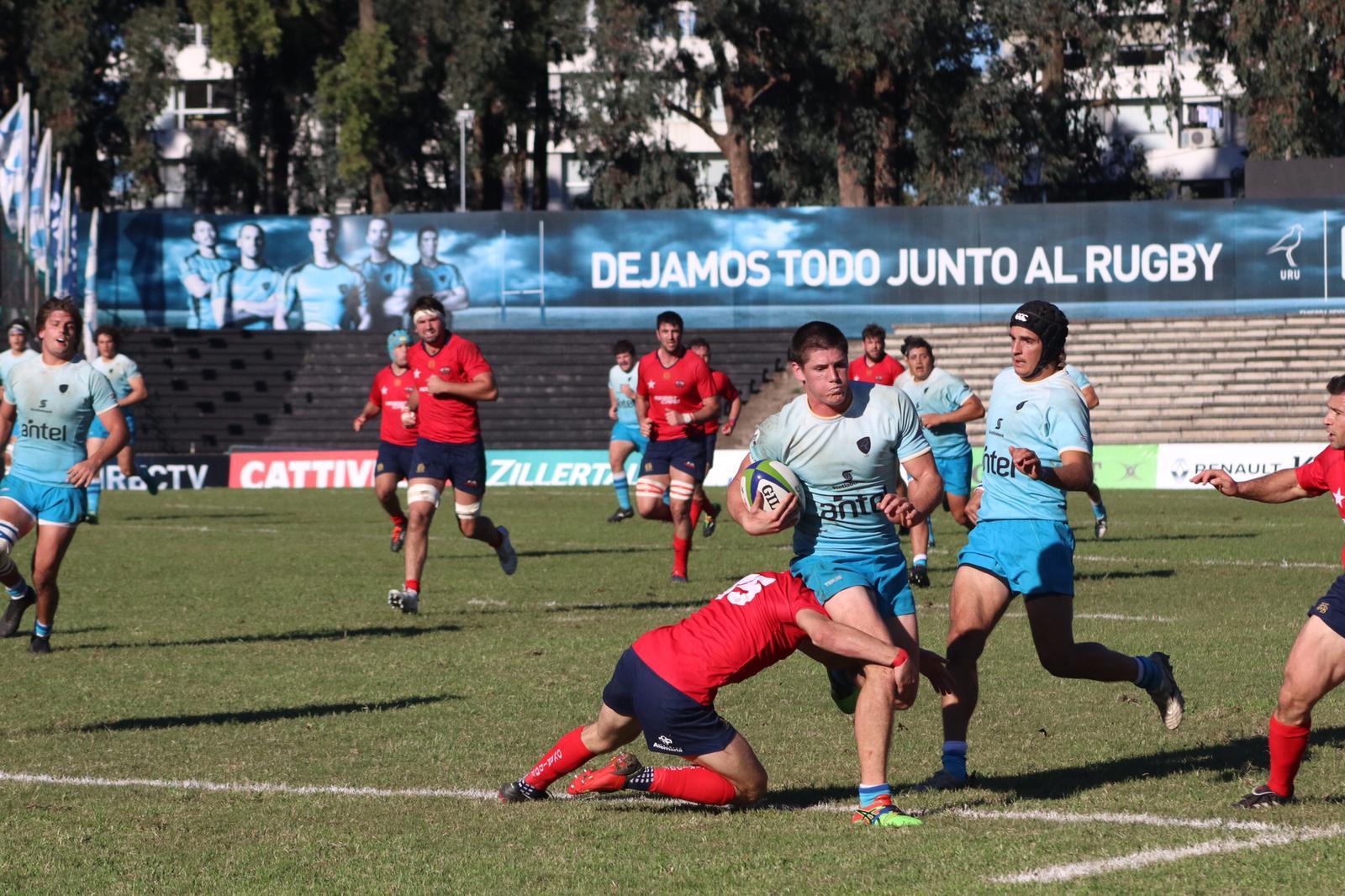Uruguay XV cayó ante Chile en el Charrúa