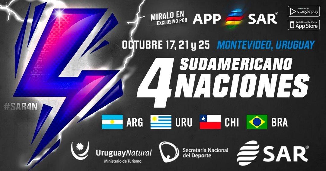 ¡Vuelve el Rugby de Selecciones con el 4 Naciones Sudamericano!