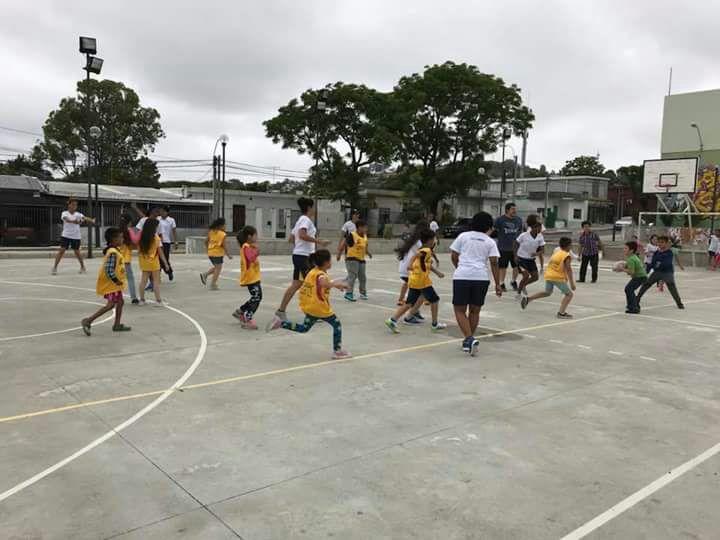 El rugby, presente en las Escuelas de iniciación deportiva de la SND