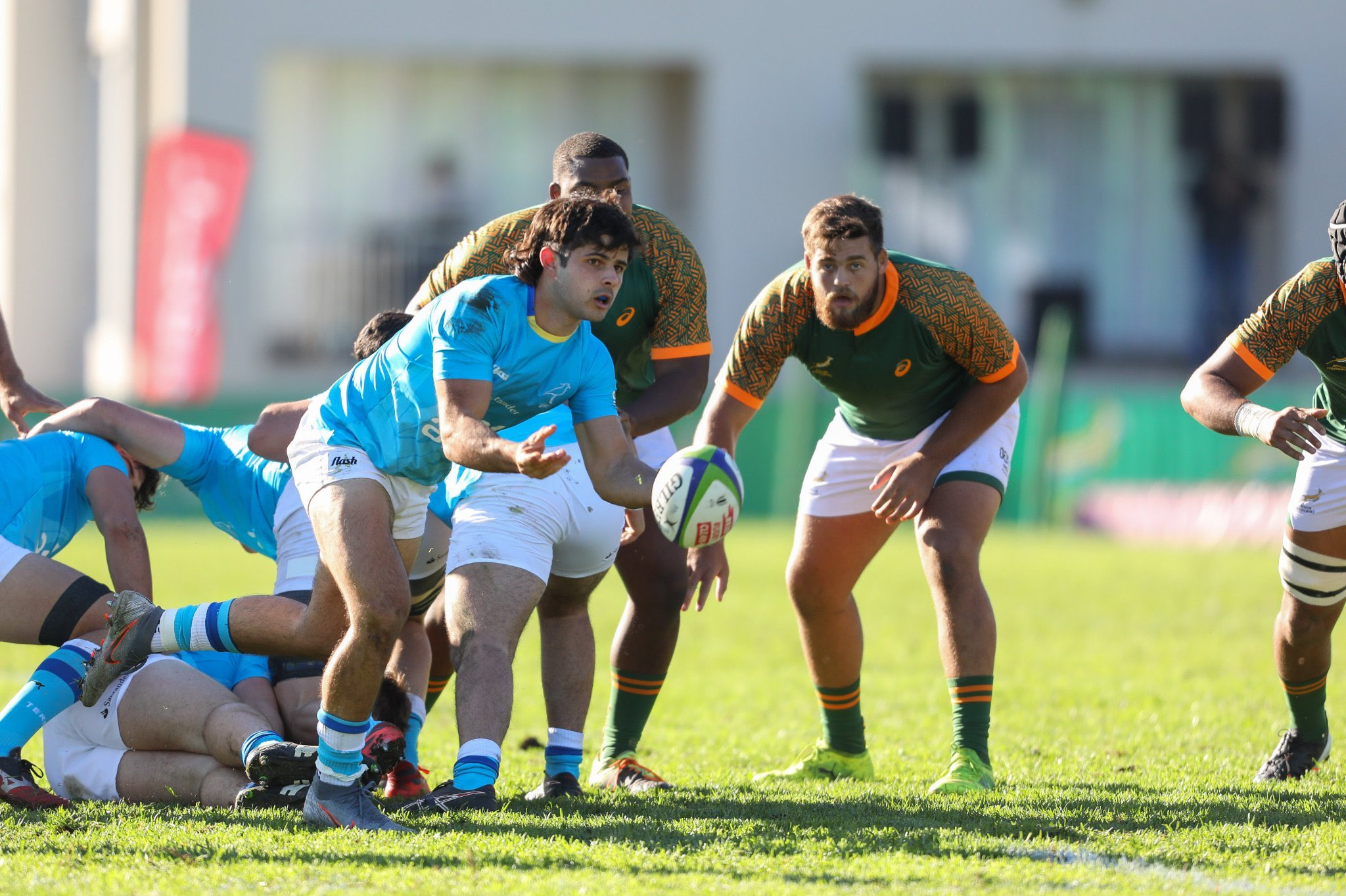 Los Teritos debutaron en el U20 Series ante Sudáfrica