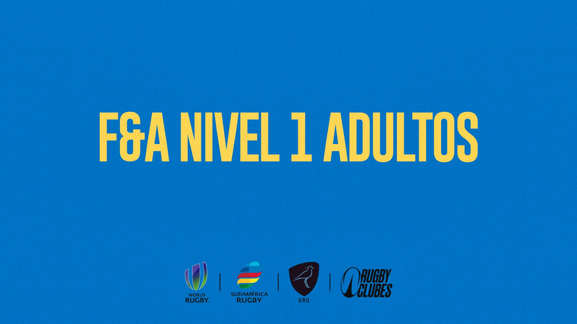 F&A Nivel 1 Adultos