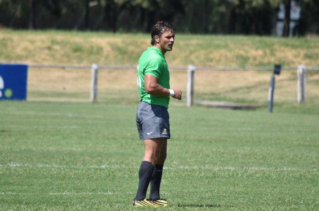 Nicolás Freitas jugó su segundo partido con Jaguares