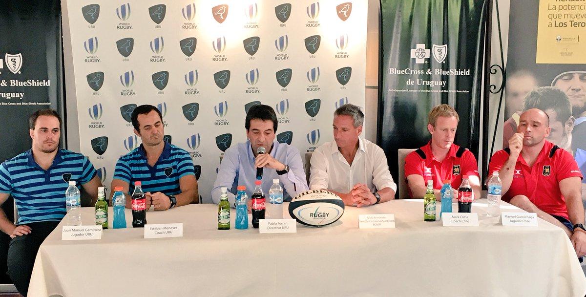 Se lanzó en Conferencia de Prensa Uruguay vs Chile