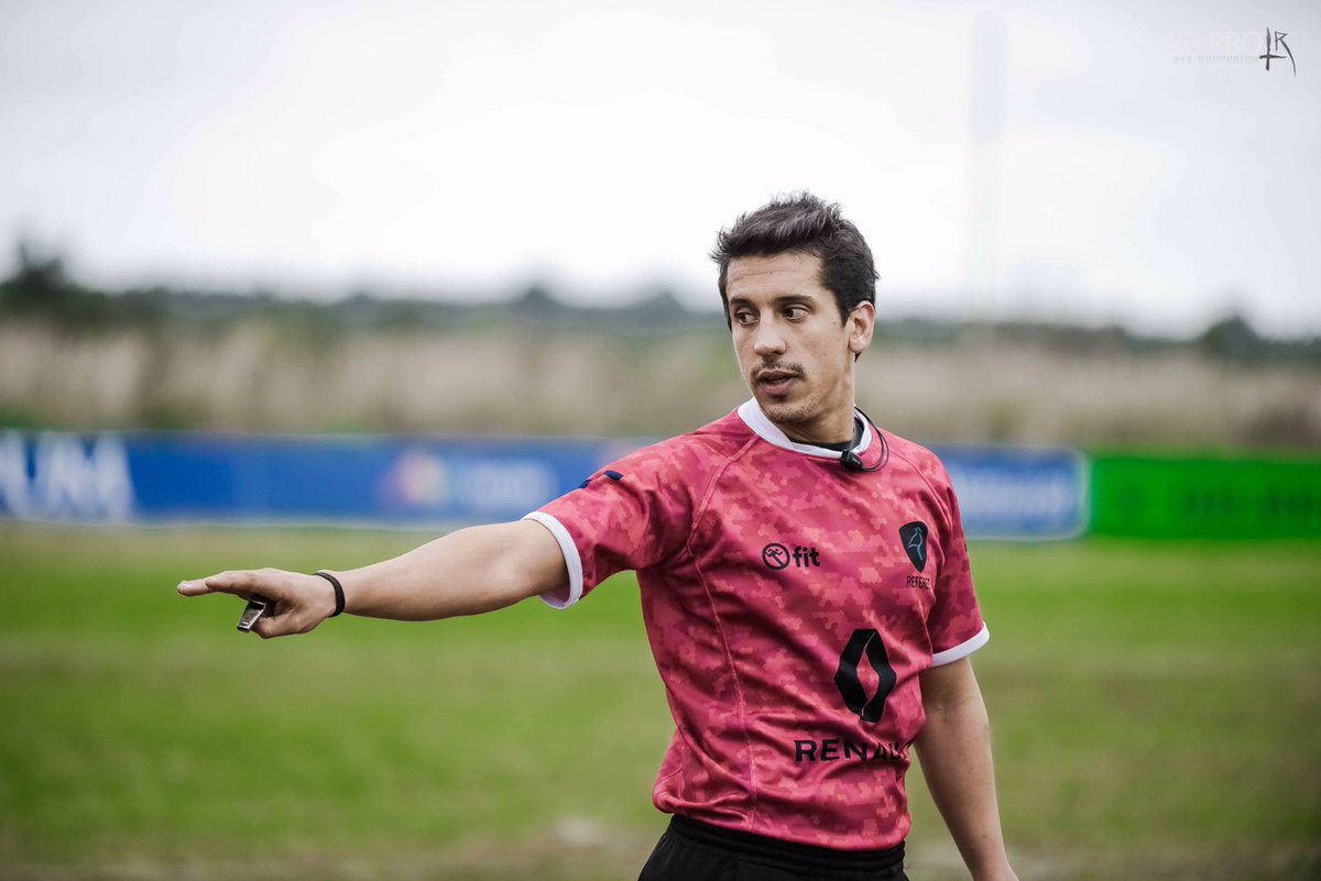 Francisco González estará como Referee en el World Rugby U20 Trophy