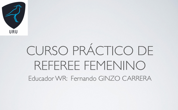 Curso Práctico de Referee Femenino