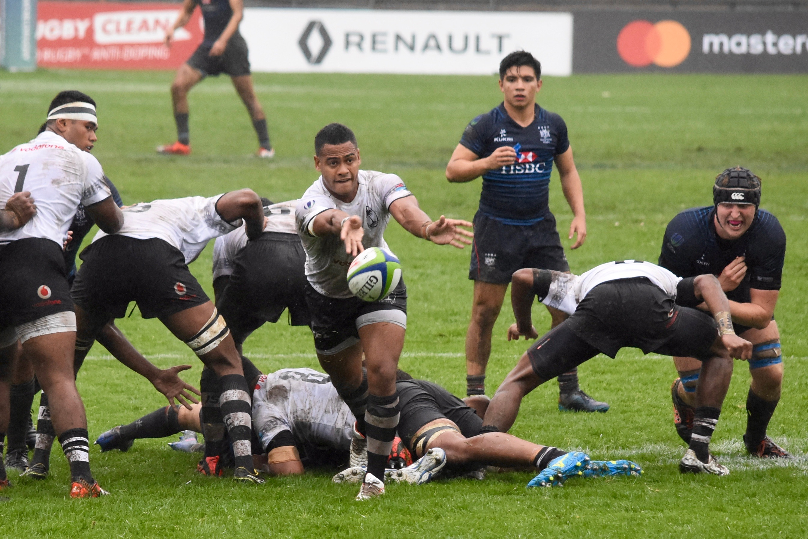 Fiji venció a Hong Kong en el último partido del día