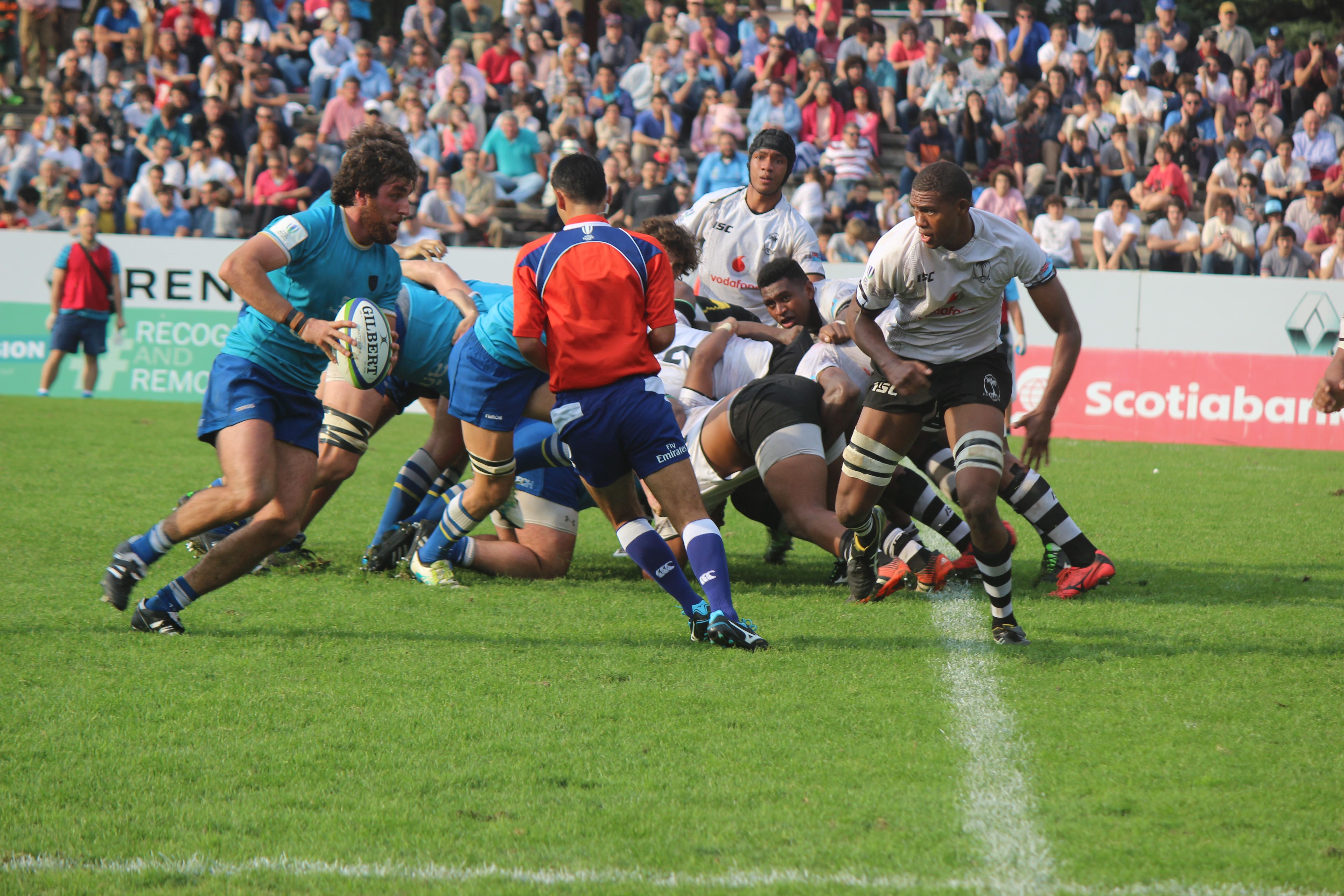 ¡Uruguay logró un gran triunfo frente a Fiji!