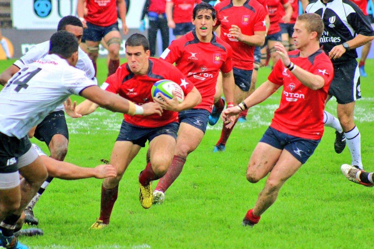 Chile se impuso a Fiji y terminó 5° en el World Rugby U20 Trophy