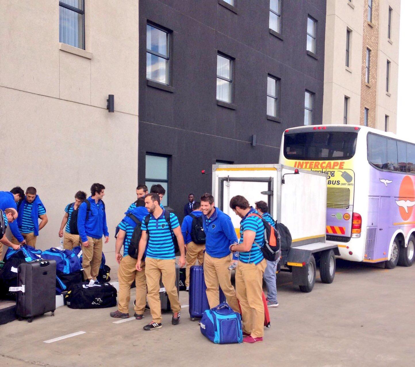 ¡Los Teros ya están en Namibia!