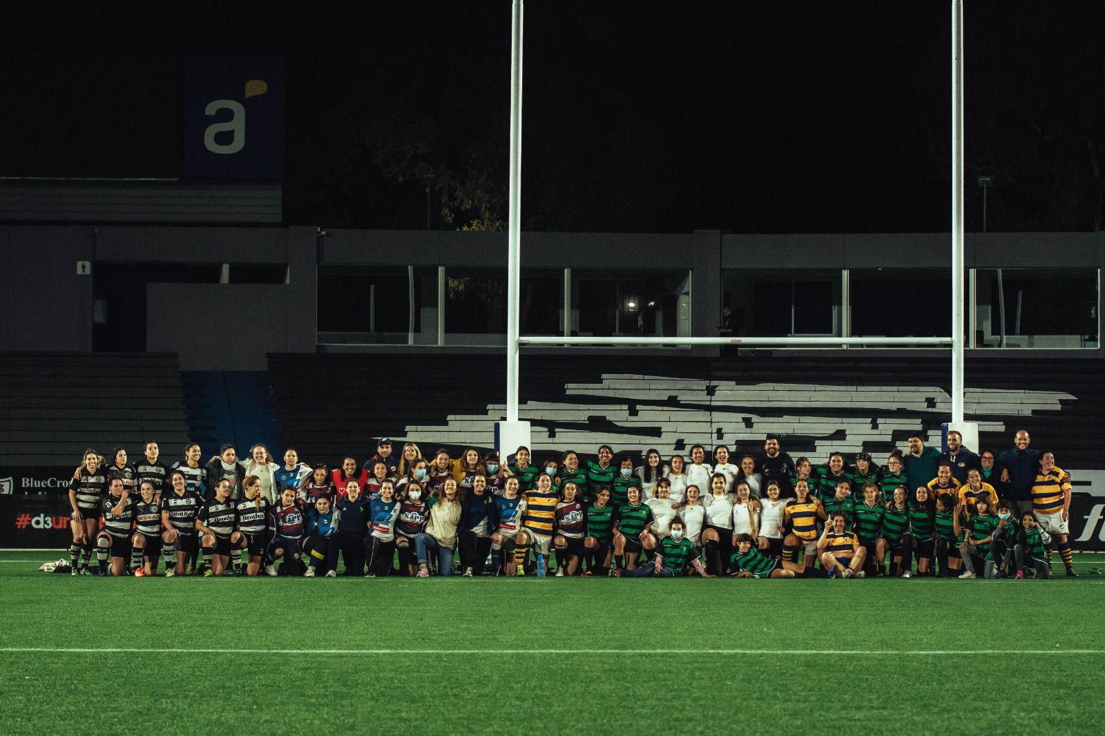 ¡El Charrúa albergó el Torneo Regional de Rugby Femenino!